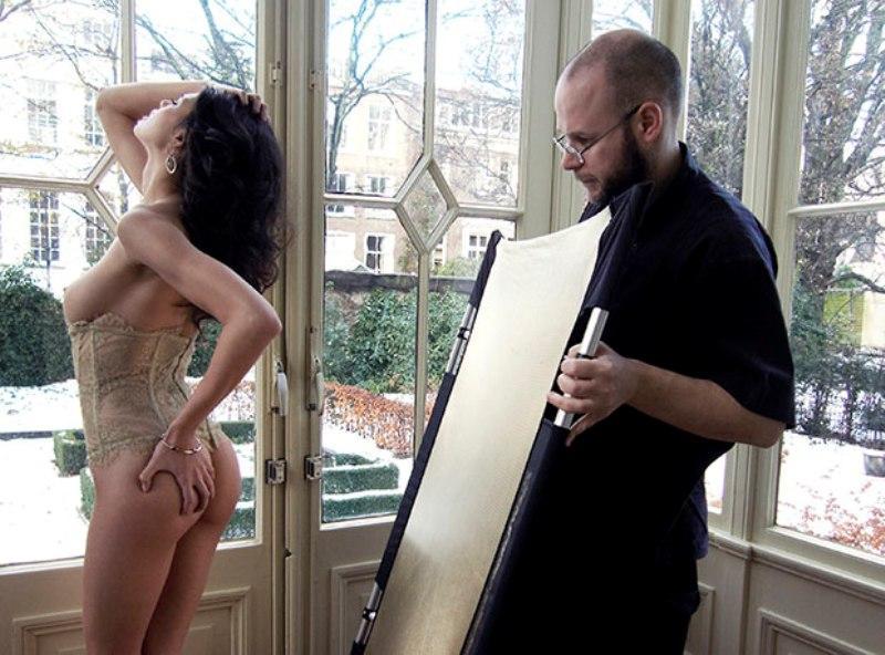 terraokw За кулисами эротической фотосессии журнала Playboy