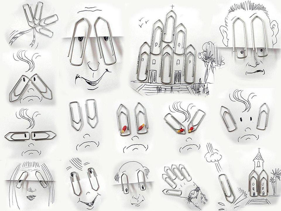 NunesPerez06 Как выглядят рисунки из еды и подручных предметов