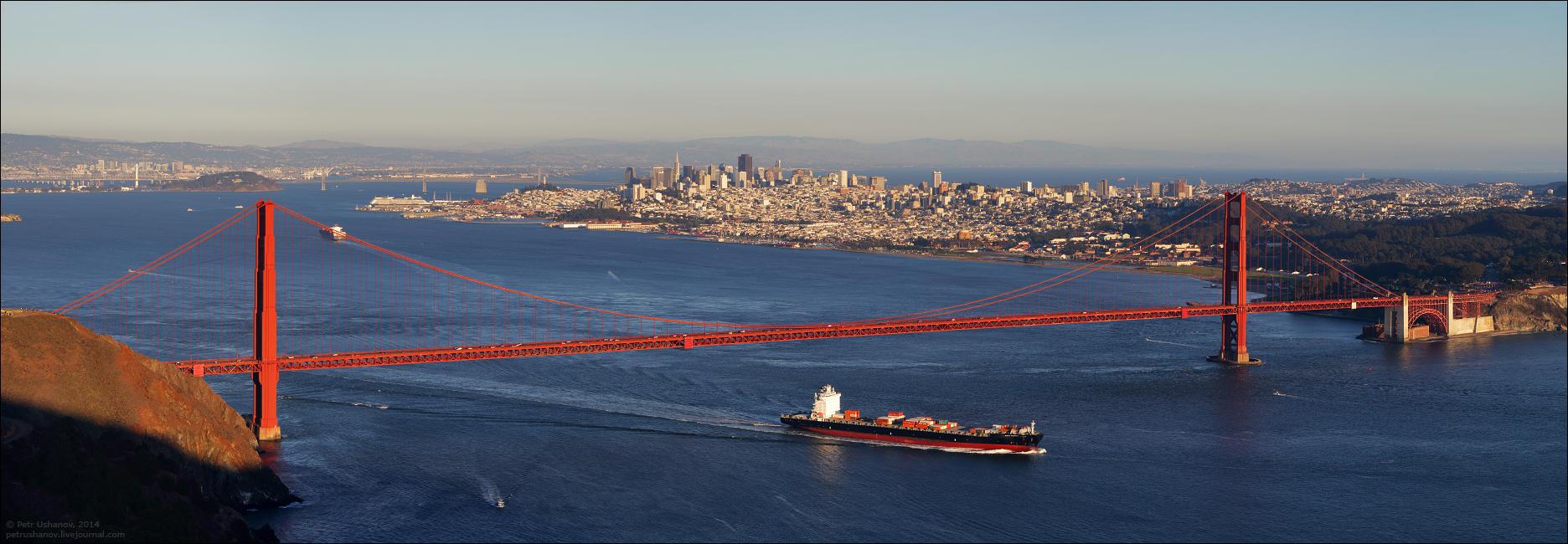 SFpanorama01 Сан Франциско   панорамы города