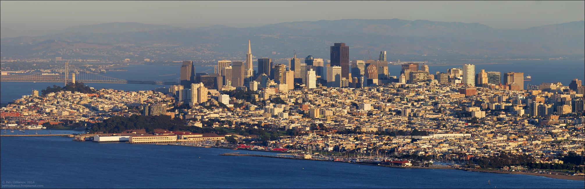 SFpanorama02 Сан Франциско   панорамы города