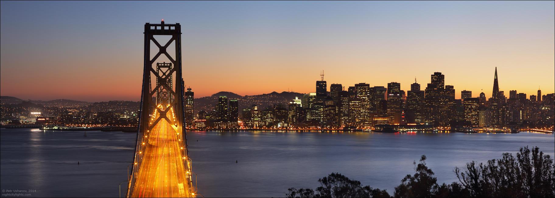 SFpanorama03 Сан Франциско   панорамы города
