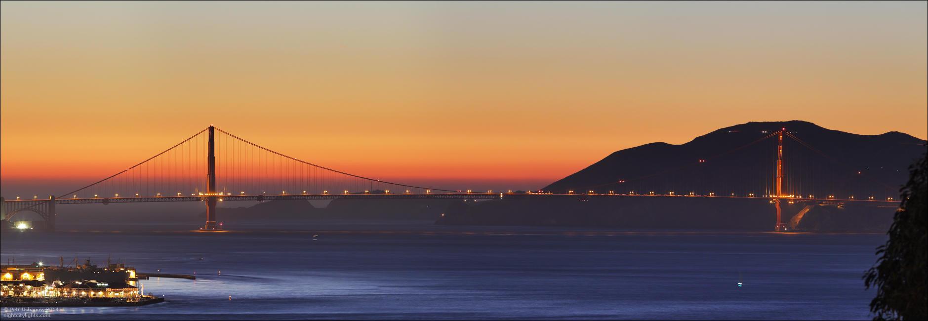 SFpanorama04 Сан Франциско   панорамы города