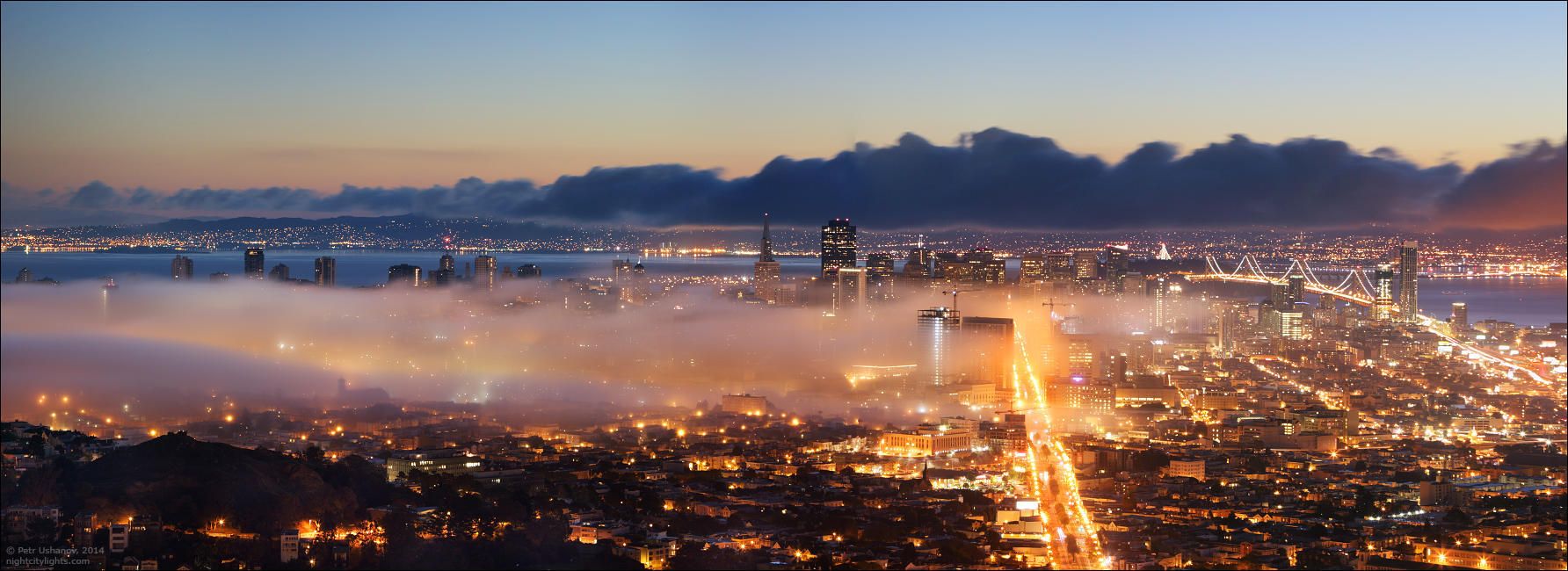 SFpanorama07 Сан Франциско   панорамы города