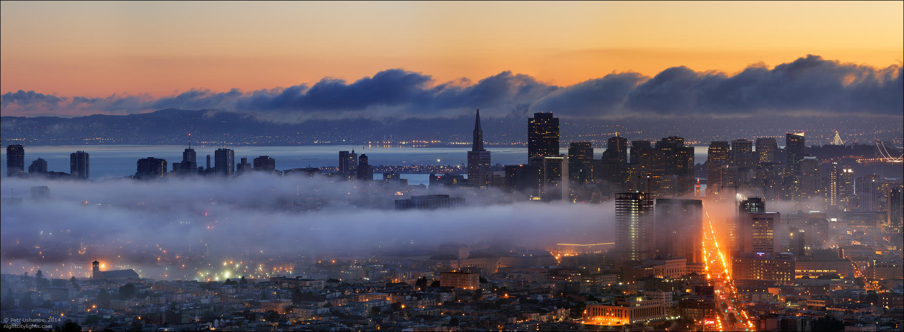 SFpanorama08 Сан Франциско   панорамы города