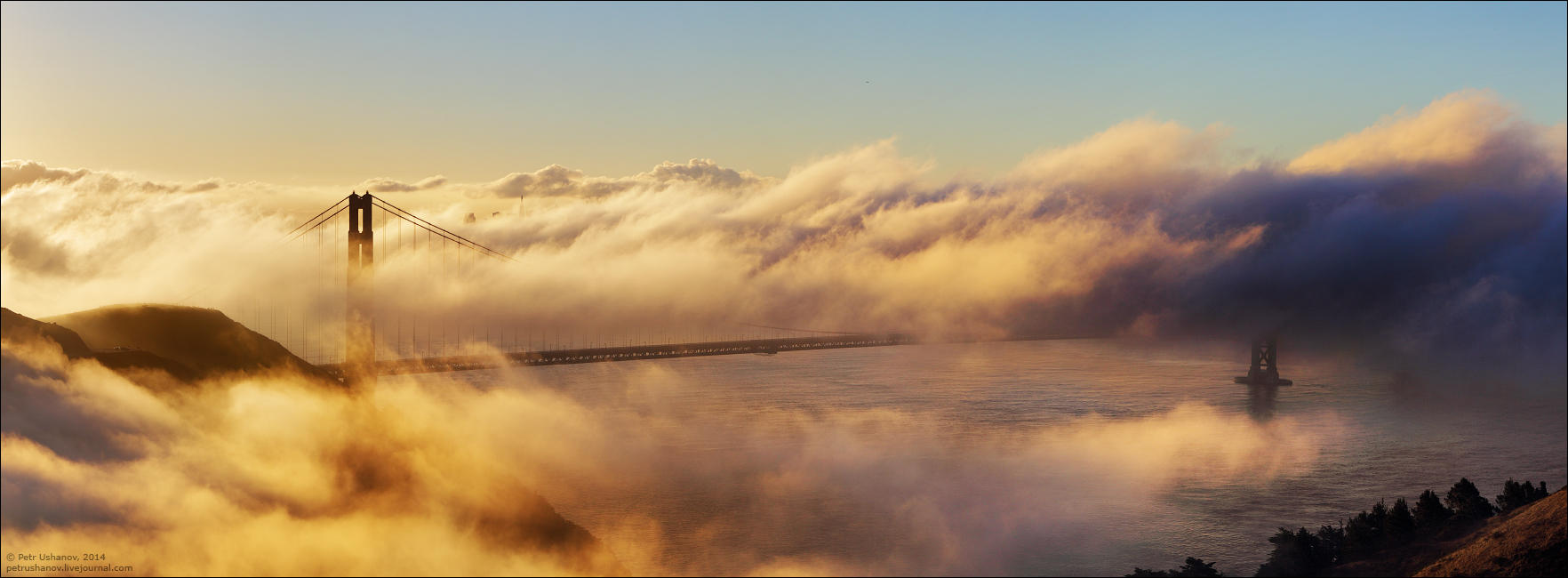 SFpanorama09 Сан Франциско   панорамы города