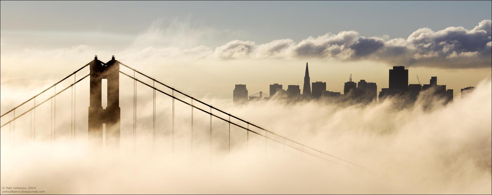 SFpanorama10 Сан Франциско   панорамы города