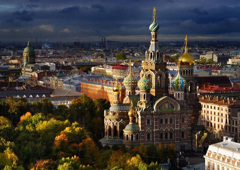 SPBFromAbove01 800x566 Санкт Петербург   вид сверху