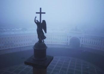 Санкт-Петербург - вид сверху