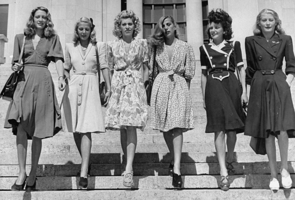 XXfashion18 Мода десятилетий XX века