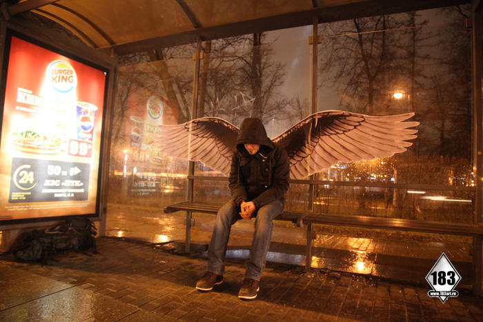 19. Из серии Питер - город ангелов. (2012 год.)