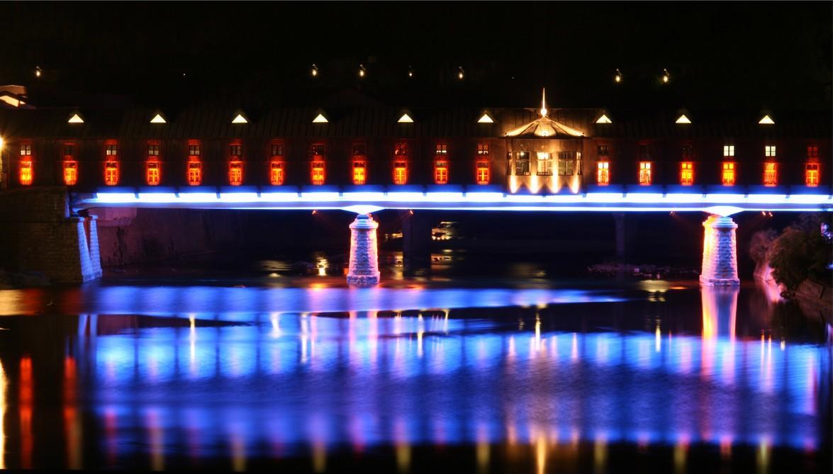 bridgehouse09 Понты на воде