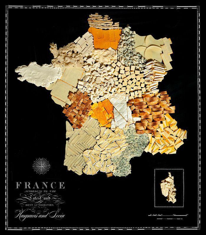 countries06 Аппетитные страны на съедобной карте мира