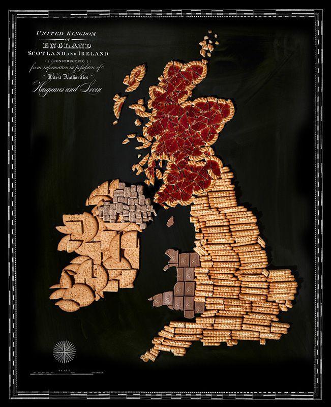 countries09 Аппетитные страны на съедобной карте мира