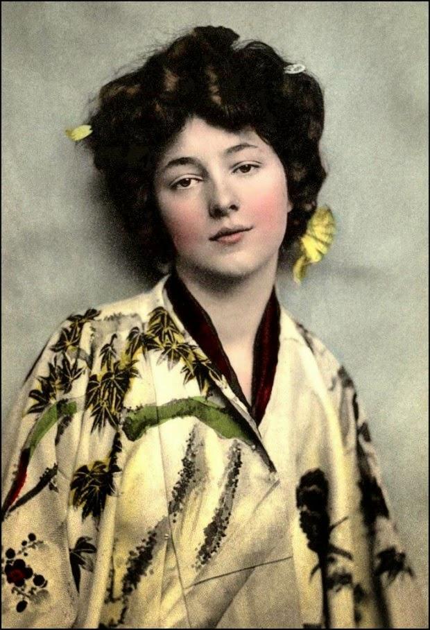 geishasgaijin01 Гейши иностранки в Японии начала 20 го века