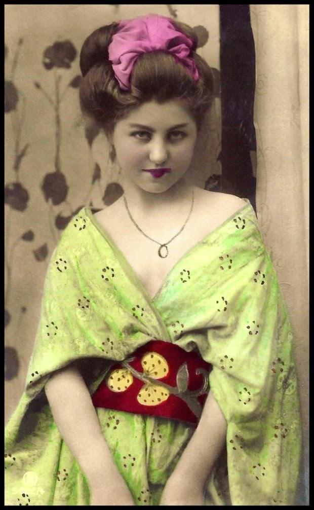 geishasgaijin02 Гейши иностранки в Японии начала 20 го века