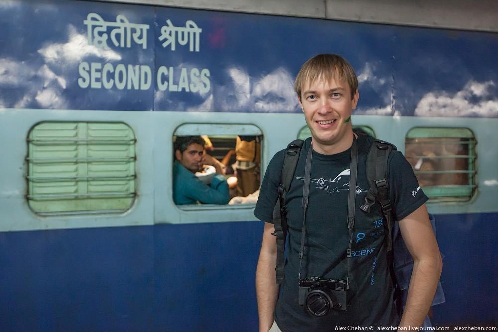 indiantrain21 Общий вагон индийского поезда