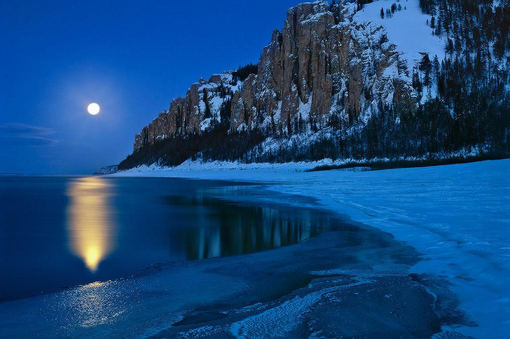 Лена – самая большая река во всей
