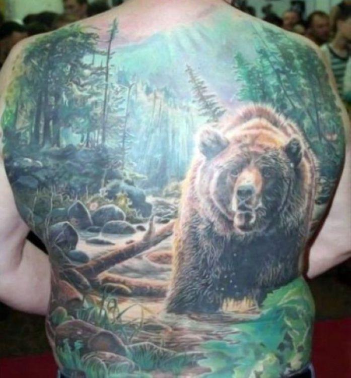russian style tattoos 04 Сугубо славянские татуировки