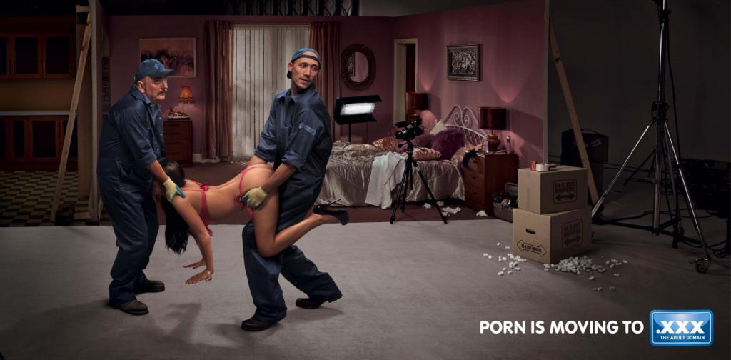 голые в рекламных роликах какой-то