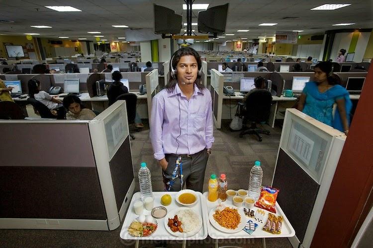 what i eat03 Увлекательный проект: Что едят люди в разных странах