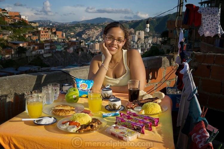 what i eat11 Увлекательный проект: Что едят люди в разных странах