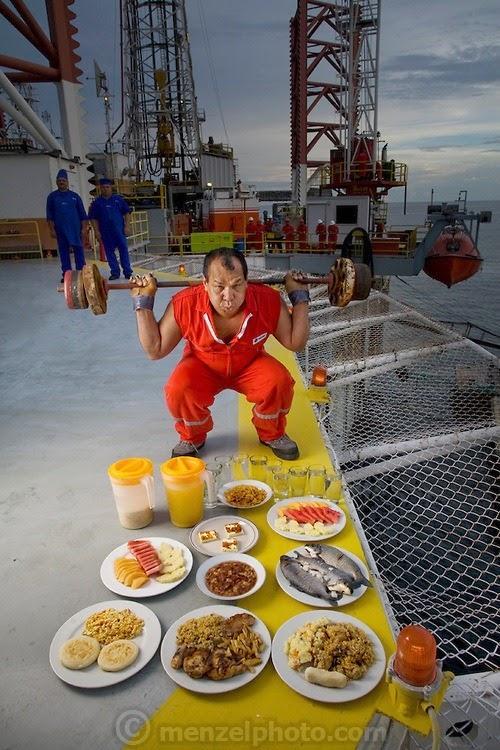 what i eat12 Увлекательный проект: Что едят люди в разных странах