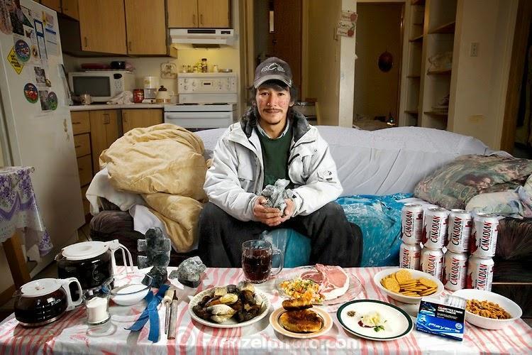 what i eat19 Увлекательный проект: Что едят люди в разных странах