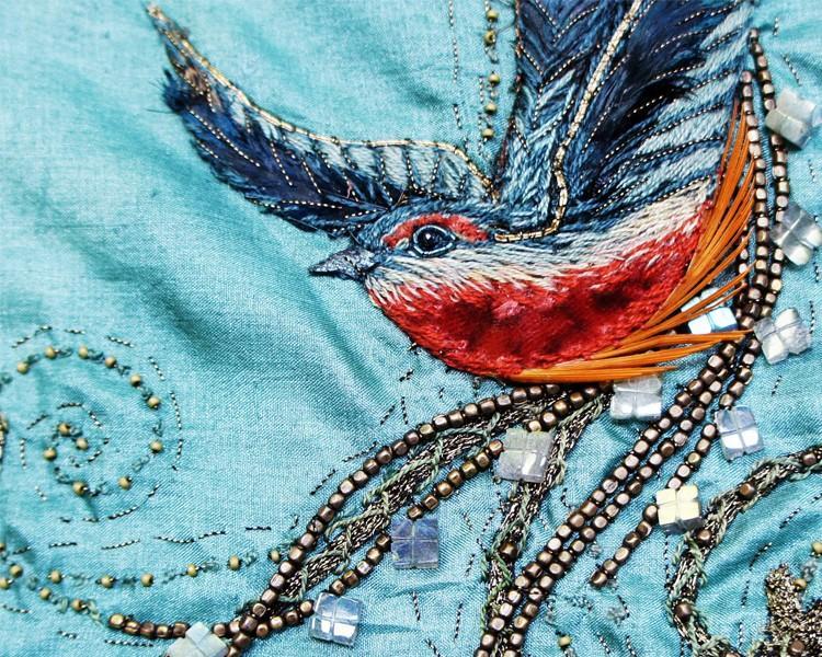02 Cersei blue detail Поразительные детали костюмов Игры престолов