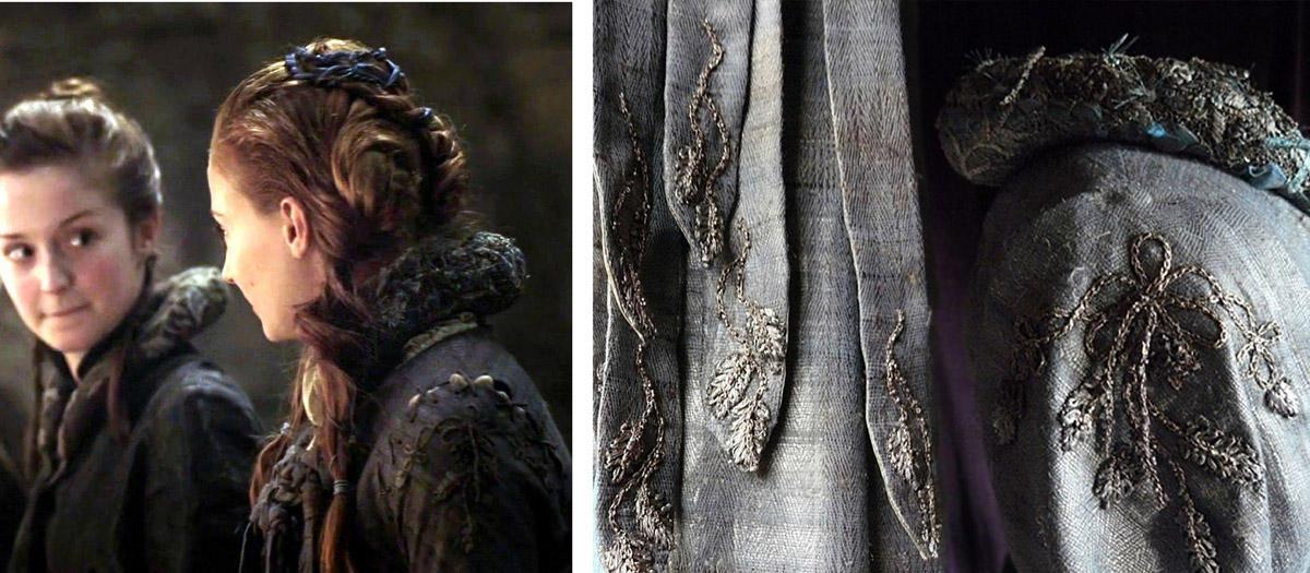 10 collage sansa winterfell Поразительные детали костюмов Игры престолов