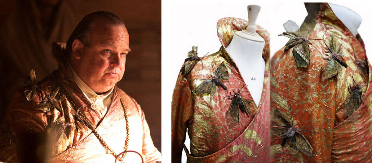 20 collage spice king Поразительные детали костюмов Игры престолов