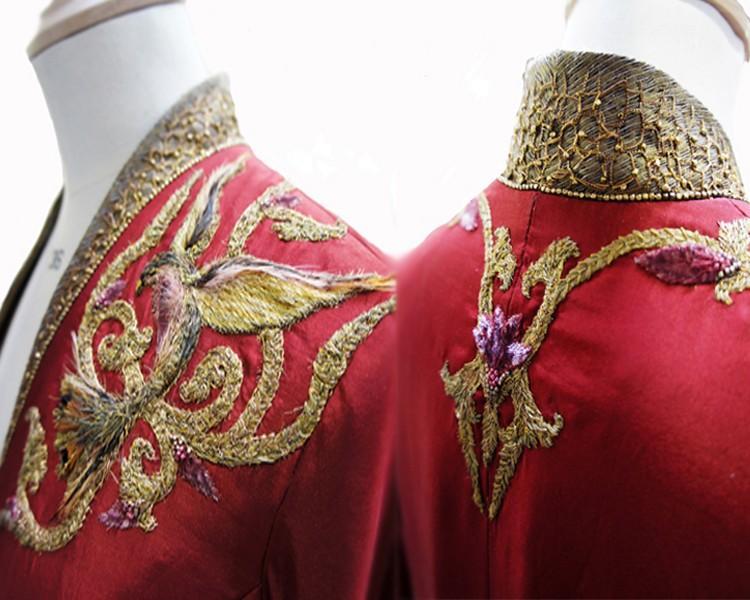 24 Cersei red details Поразительные детали костюмов Игры престолов