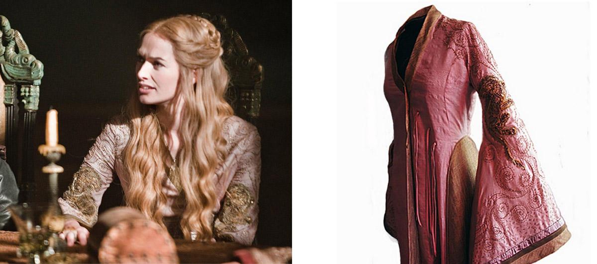28 collage cersei pink Поразительные детали костюмов Игры престолов