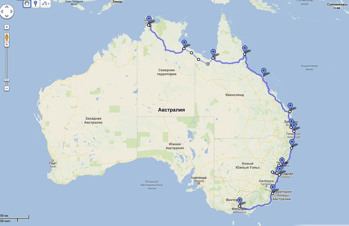 Australia01 Большое путешествие по Австралии