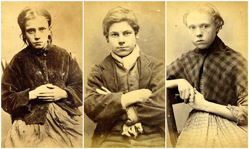 BIGPIC2 Лица британской преступности 19 го века