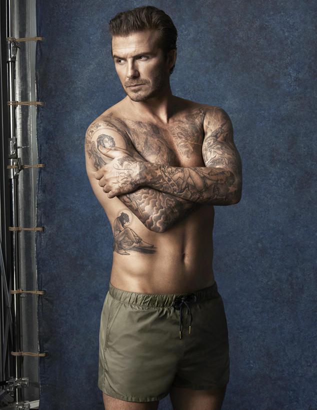 Beckham02 Дэвид Бекхэм для H&M или маленькая женская радость