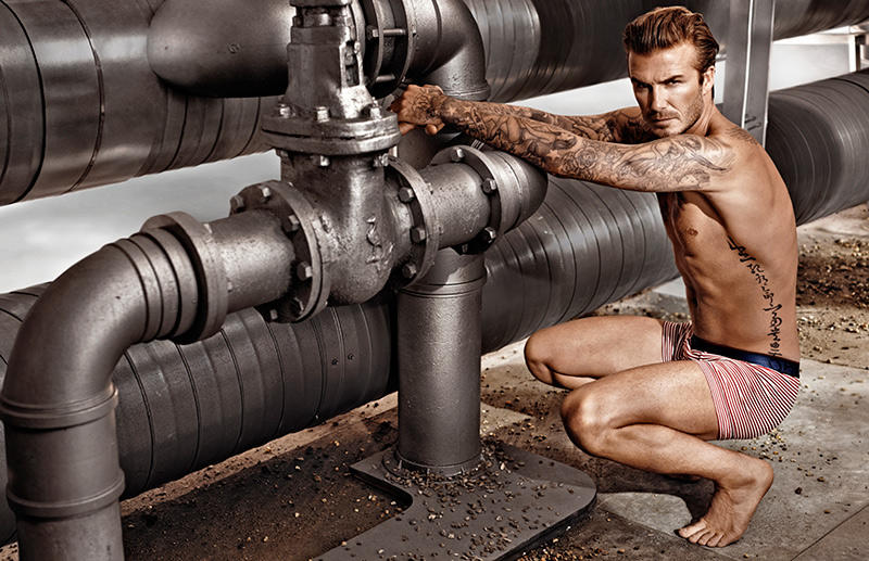 Beckham04 Дэвид Бекхэм для H&M или маленькая женская радость