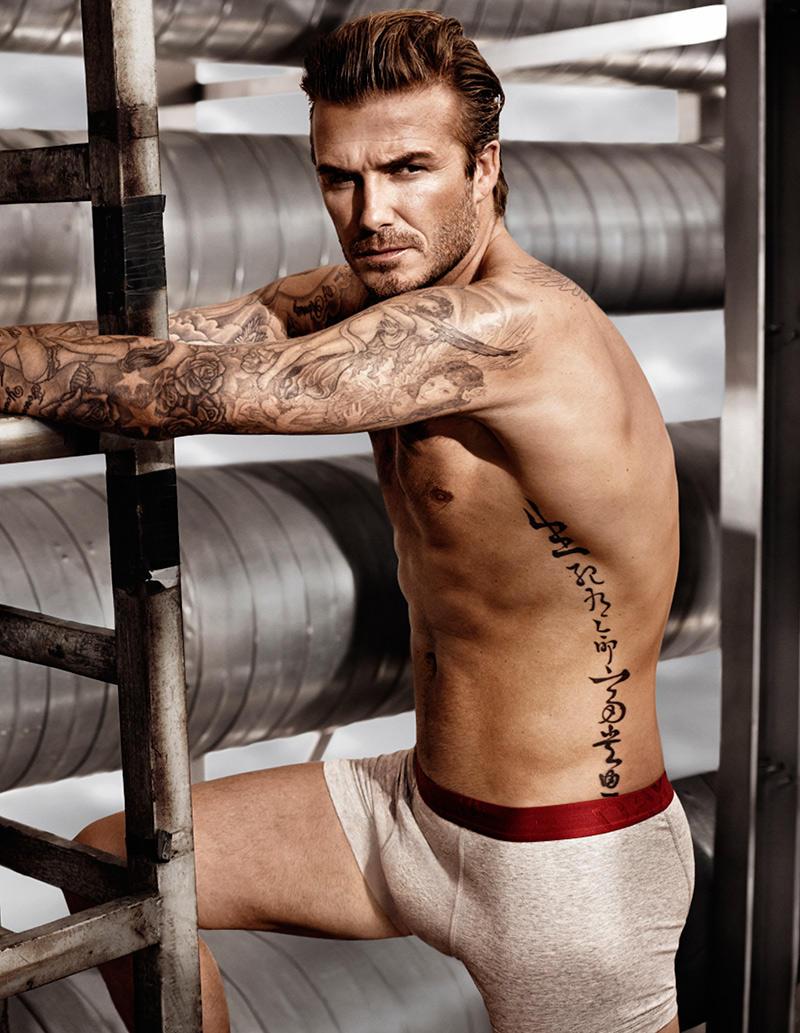 Beckham06 Дэвид Бекхэм для H&M или маленькая женская радость