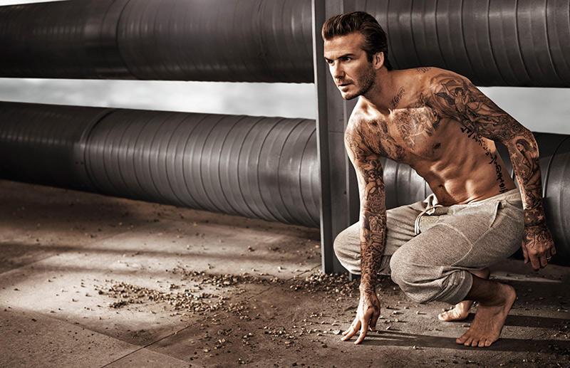 Beckham07 Дэвид Бекхэм для H&M или маленькая женская радость