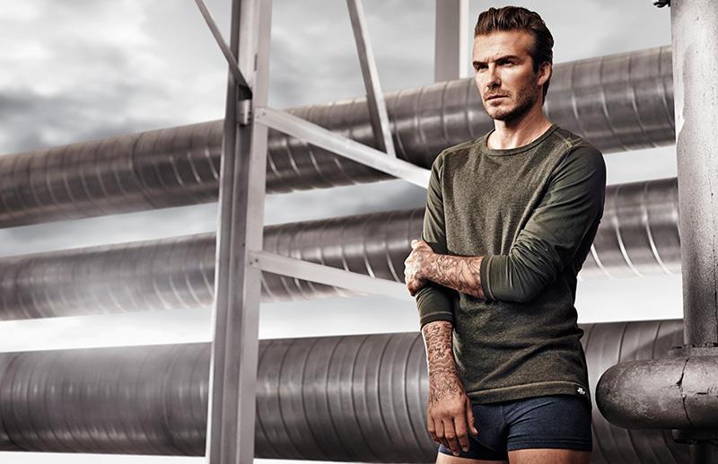 Beckham08 Дэвид Бекхэм для H&M или маленькая женская радость