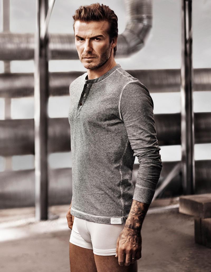Beckham09 Дэвид Бекхэм для H&M или маленькая женская радость