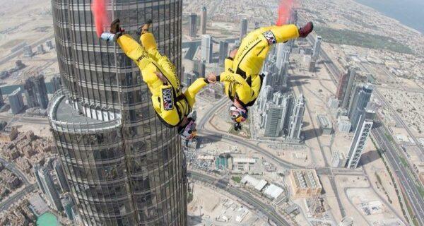 Прыжок с самого высокого здания вмире