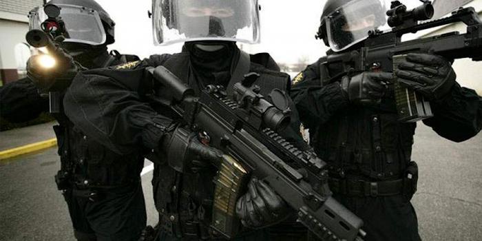 22. GSG 9 — спецназ федеральной полиции Германии