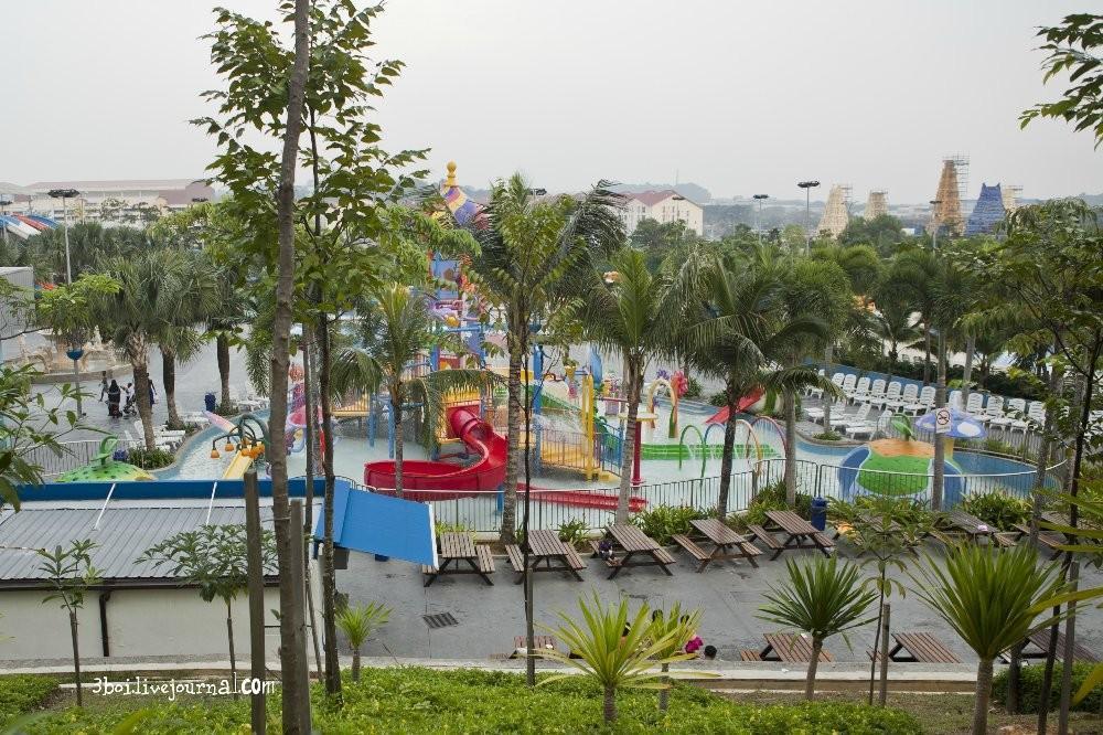 I City01 I City: светящийся сад в Малайзии