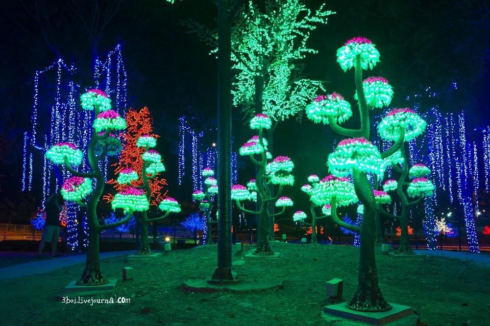 I City17 I City: светящийся сад в Малайзии