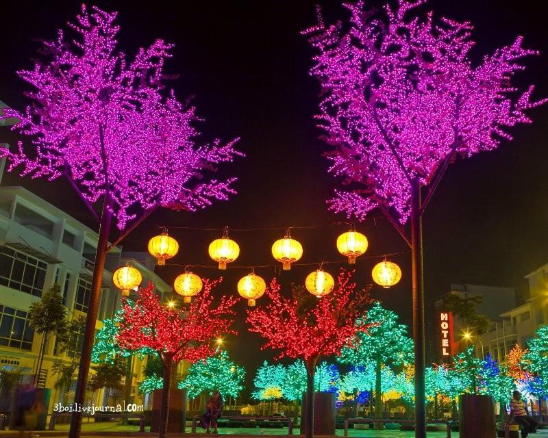 I City19 I City: светящийся сад в Малайзии