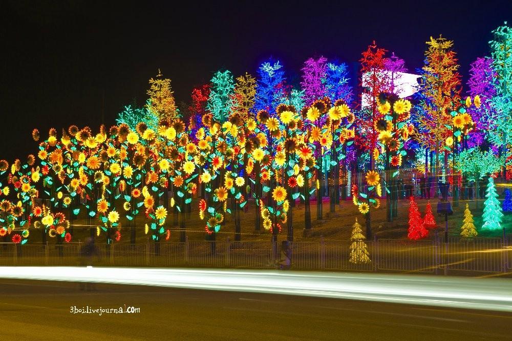 I City22 I City: светящийся сад в Малайзии
