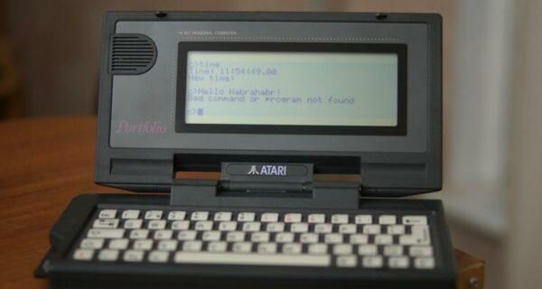 Atari Portfolio: ноутбук из «Терминатора‑2»