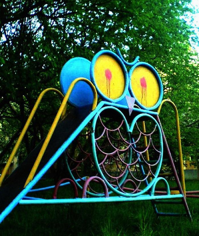 psychedelia22 Пост психоделических детских площадок