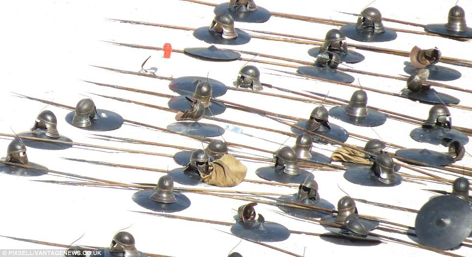 11. Шлемы и копья безупречных, окрестности Сплита, Хорватия (сентябрь 2013)