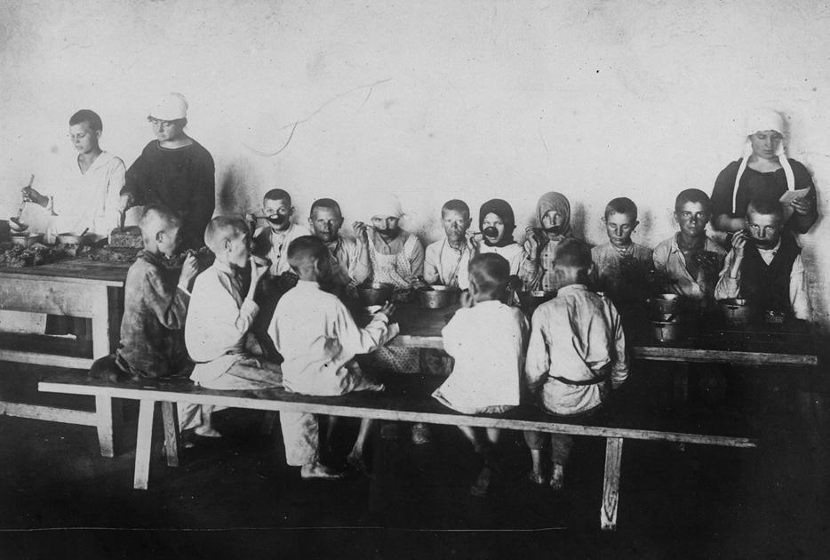 waif19 Советские беспризорники 1920 х годов
